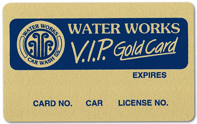 VIP Gold Plus Card
